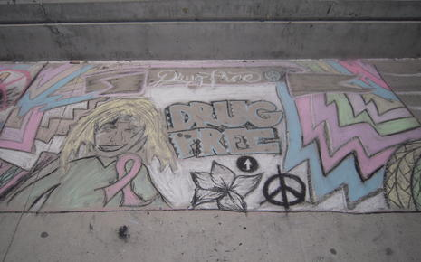 Chalk Drawing Contest